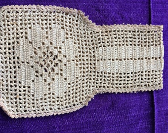 Vintage Crocheted Lace Bag