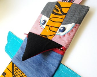 Totem. A multipurpose case. Ooak