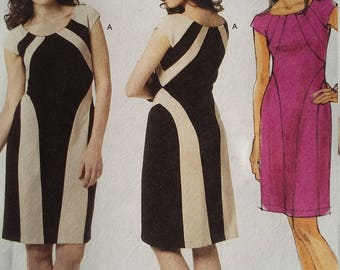 UNCUT  and FF Pattern Pieces Butterick 5677 Sewing Pattern Sizes 12 thru 18