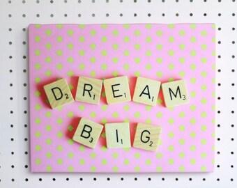 SECONDS - Dream Big Canvas Print