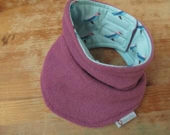 Toddler Neck Warmer, 25% OFF, Children's Neck warmer, Fleece Neckwarmer, NeckWarmer, Purple NeckWarmer, Velcro Neckwarmer, Kids Neckwarmer