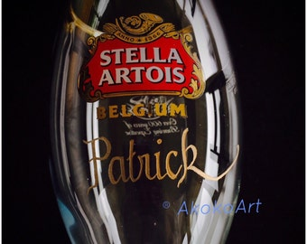 Stella Artois Chalice Engraving, STELLA CHALICE 40CL, chalice engraving, stella artois engraved, engraved beer glasses, personalized chalice