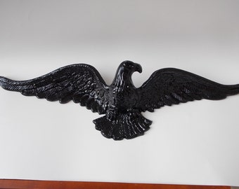 Vintage Brass Eagle Wall Hanging