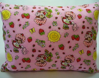 Strawberry Shortcake Travel Size Pillowcase & pillow