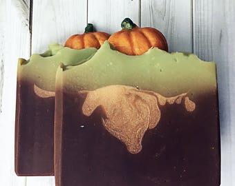 Pumpkin Biscotti Soap / Shea Butter Soap
