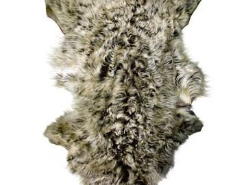 Glacier Wear Tuscan Lamb Hide Pelt Fur Snowtop
