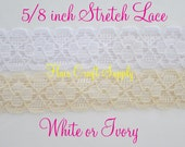 20 yards vintage lace in white
