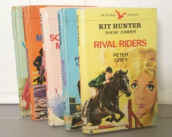 Kit Hunter Show Jumper Books Peter Grey 1972