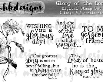 Glory of the Lord Digital Stamp Set