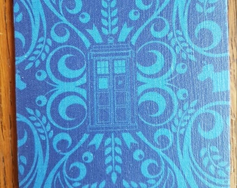 4 inch square Doctor Who inspired coaster