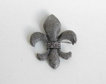 Fleur de Lis Brooch,Women's Brooch, Fashion Brooch, Celebrity Brooch, Fleur De Lis Brooch,Fleur De Lis Pin