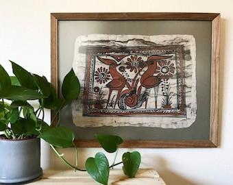 Vintage Bird Folk Art - 1:2