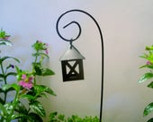 Miniature Lantern - Fairy Garden - Terrarium - Miniature Gardening - Craft Supply