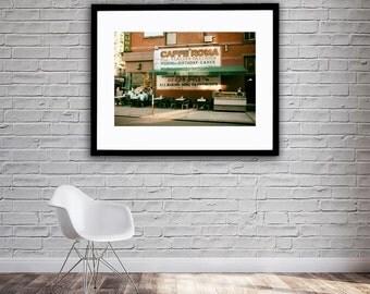 New York City - Little Italy - Manhattan - Caffe Roma - Street Photography - Digital DOWNLOAD