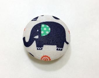 Elephant Drawer Knob Pulls Set of 4 / Cabinet / Nursery / Handles / Room Decor / Furniture Accessories / Baby Room / Safari / Polka Dots