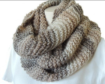Knit Cowl, Womens Scarves, Womens Accessories, Chunky Knit Scarf