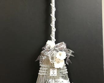 20s Era Wedding Broom