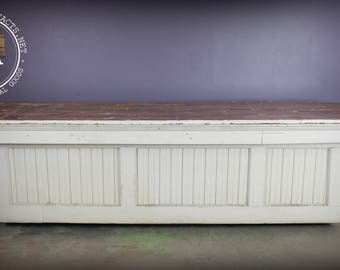 Authentic Mercantile Trade Counter w/ 2-Board Top