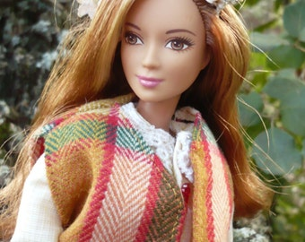 Mori Girl OOAK Barbie Doll - Maya