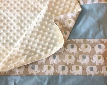 Custom, Large Minky Blanket, Baby Blanket, Toddler Blanket, Stripes, You Create, OOAK, Quinnsbin, Baby Shower Gift