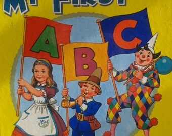 My First ABC Book by Dean