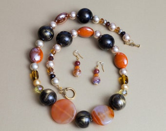 Classy 26 Inch Beaded Necklace