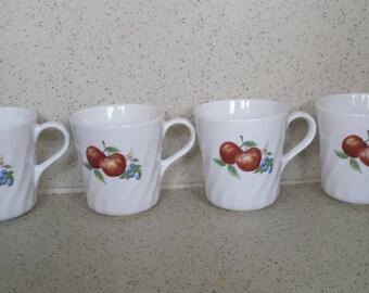 Corelle Chutney Mugs - Set of 4
