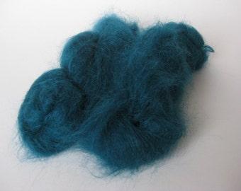 Luxury Long hair Mohair, Teal colour