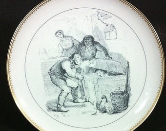 Bing and Grondahl Plate Little Claus Big Claus