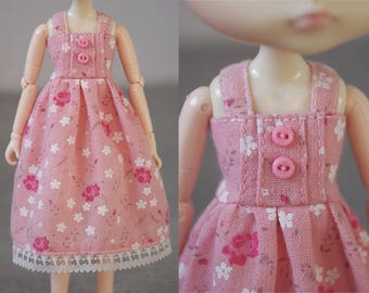 Obitsu Pullip Dal Doll Handmade Outfit Dress