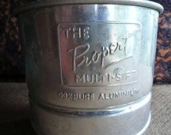 Propert Australia vintage flour sifter 1930s/1940s