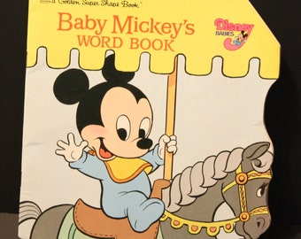 Baby Mickey's Word Book