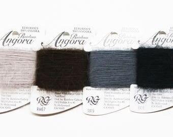Angora Yarn 5.00 Each, Rainbow Gallery Angora, Needlework Angora Yarn, Rainbow Gallery Yarns, Needlework, Needlework Angora Yarns, Threads