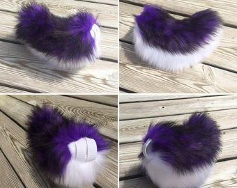 Purple Husky Nub Tail
