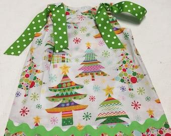 Christmas Dress, Holiday Dress, size 3, A-line Dress