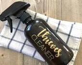 Thieves Cleaner BOTTLE | 16 oz. Spray Bottle | Window Cleaner, Room Spray Bottle  with Label