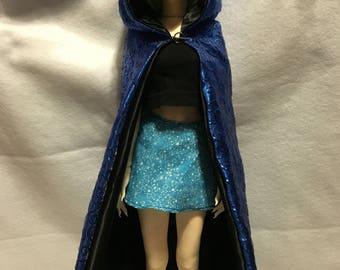 Blue SD cloak