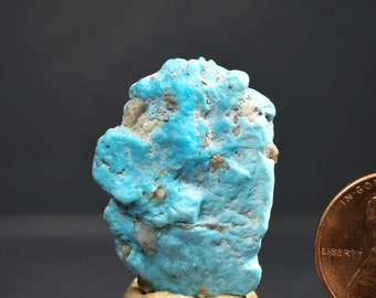 SLEEPING BEAUTY Natural TURQUOISE  Rough nugget