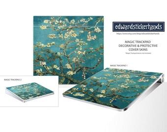 Magic Trackpad Van Gogh Blossoming Almond Tree Pattern Decorative Cover Skin