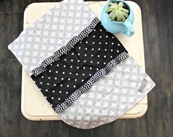 Baby Blanket - Tag Blanket - Ribbon Blanket - Baby Blankets - Lovey - Security Blanket - Modern Baby Blanket - Snuggle Blanket - Baby Gift