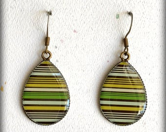 Teardrop Earrings; Tear Drop Earrings; Statement Earrings