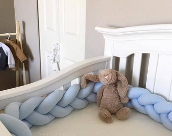 Plush Braided Cushion - Crib Bumper