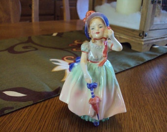 "Vintage Royal Doulton England Bone China Figurine ""Babie"""
