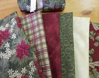 Forever Green Fat Quarter Bundle Holly Taylor Moda Fabrics Christmas New!