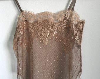 Vintage French Lace Camisole