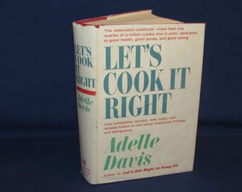 LET'S COOK IT Right Cookbook 1962