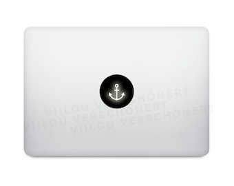 mac anchor sticker laptop decal computer motif notebook ibook e-reader mobile phone cell phone tattoo decoration vinyl decals picture motifs