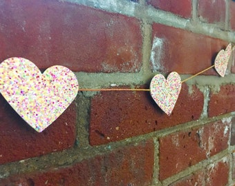 Heart Garland, large/multi