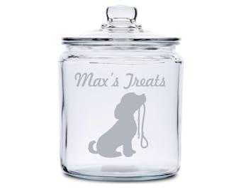 Dog Treat Jar Etsy