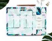 Tropical Samba Leaf Wellness Planner/organiser